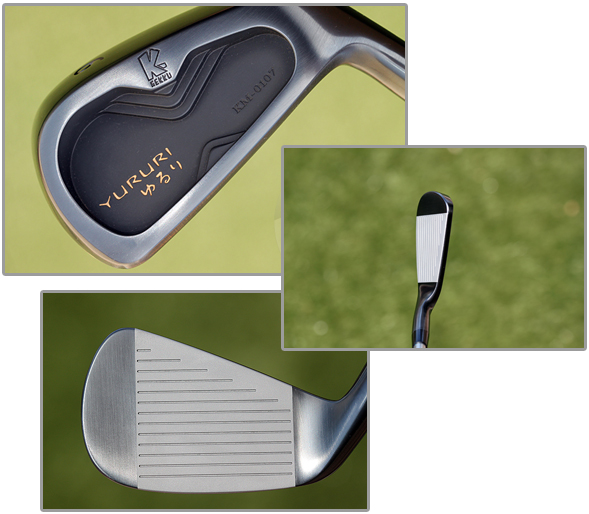 Yururi KM0107 Forged Cavity Back Irons