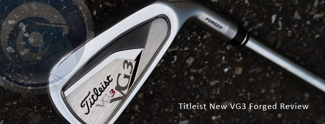 Titleist New 2012 VG3 Forged Iron Review